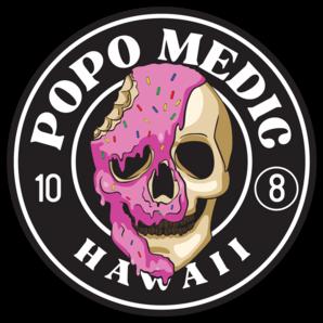 Popo Medic - Logo Sticker