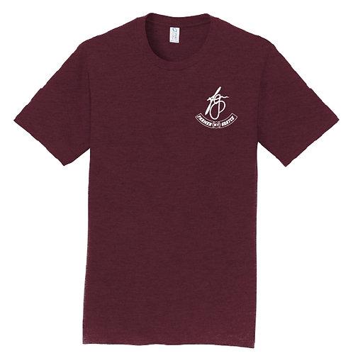 Farmer Grayce - Short-Sleeve Logo Tee (Maroon)