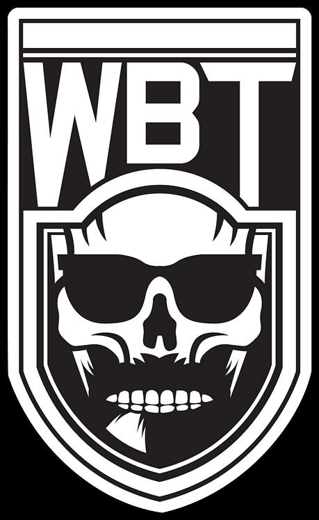 Wild Beard - Skull Sticker