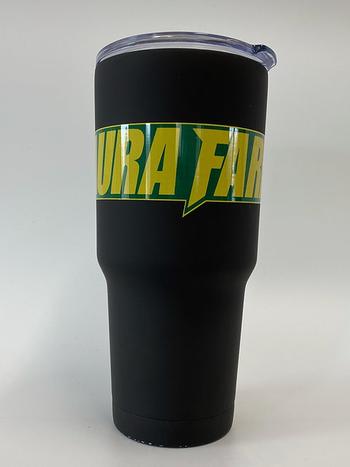 Laura Farms - 30 Ounce Insulated Tumbler (Green/Yellow)