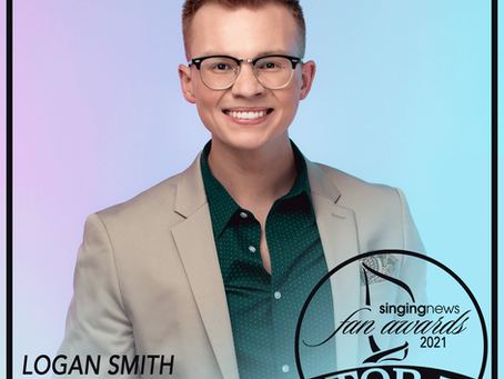 Logan Smith snags Top 5 Singing News Fan Award Nomination