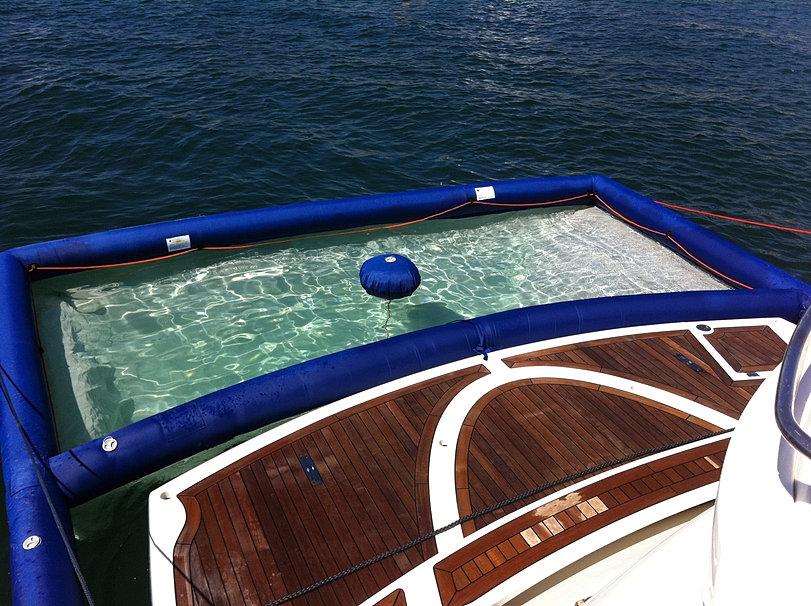 Pisicina per barche piscina antimedusa piscina da mare - Motore per piscina ...