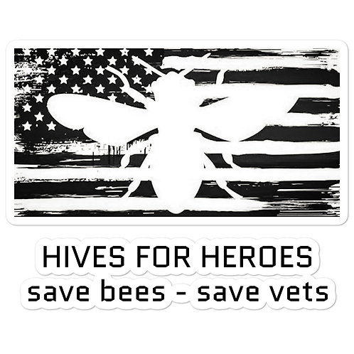 Hives for Heroes Sticker