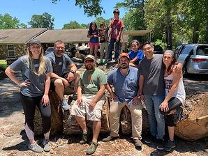 Community of beekeepers, veterans, and volunteers.