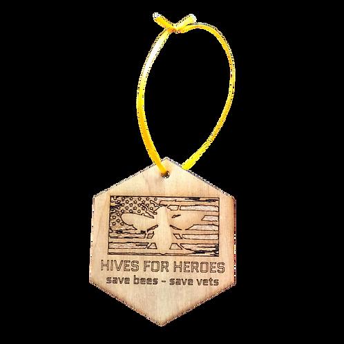 Tree Ornament - Honeycomb