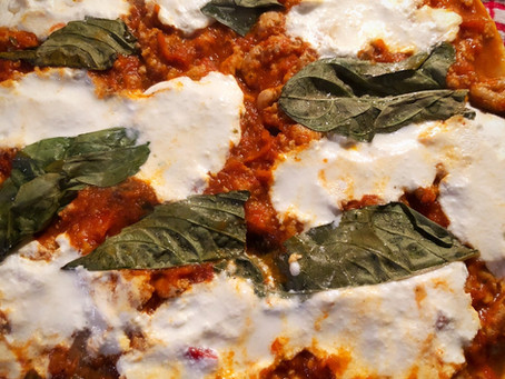 Pasta-Free Turkey Vegetable Lasagna