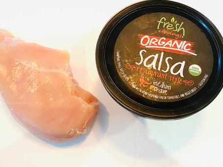 Simply Shredded Salsa Chicken