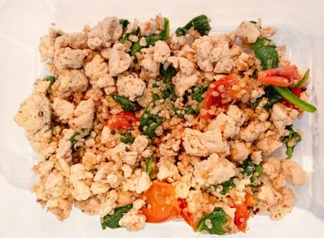 Turkey Quinoa Bowl
