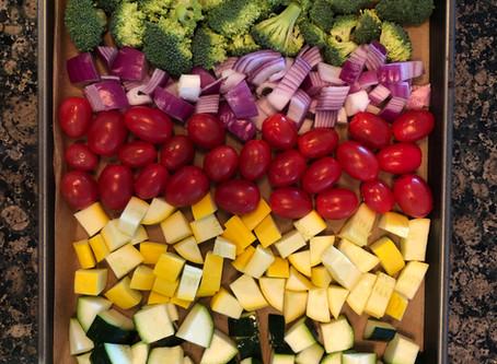 Roasted Rainbow of Vegetables
