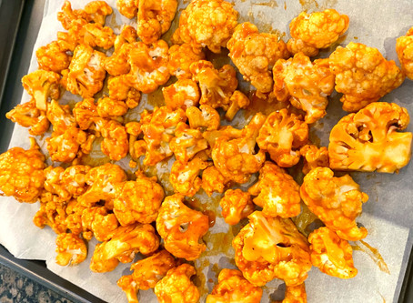 Roasted Buffalo Cauliflower