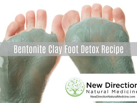 Bentonite Clay Foot Detox