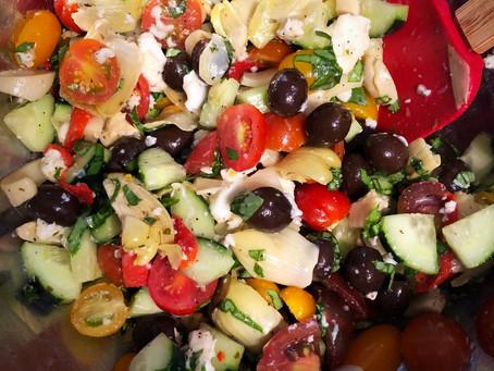 Tasty Tomato Mozzarella Salad
