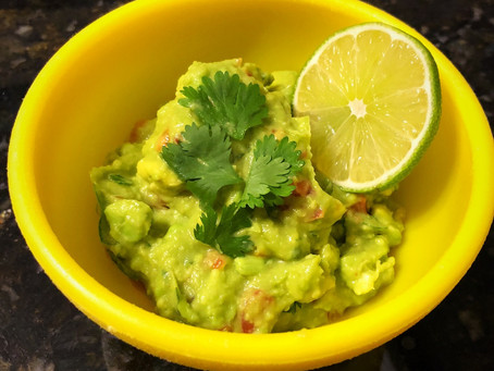 The Perfect Homemade Guacamole