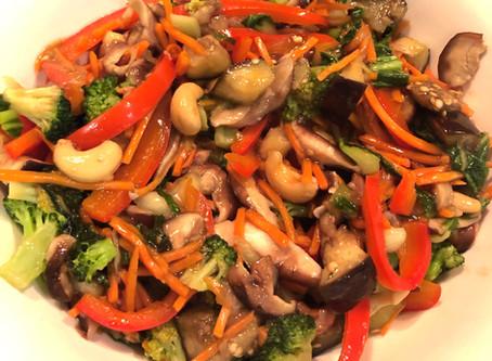 Healthy Chinese Vegetable Stir-fry