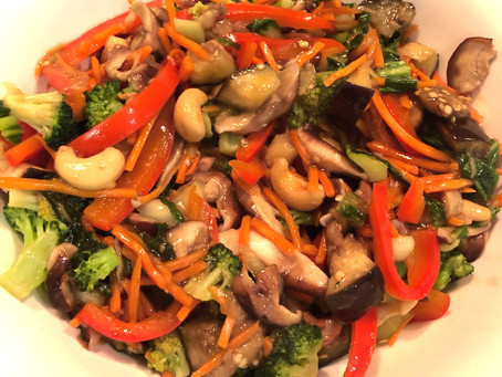 Healthy Chinese Vegetable Stir-fry