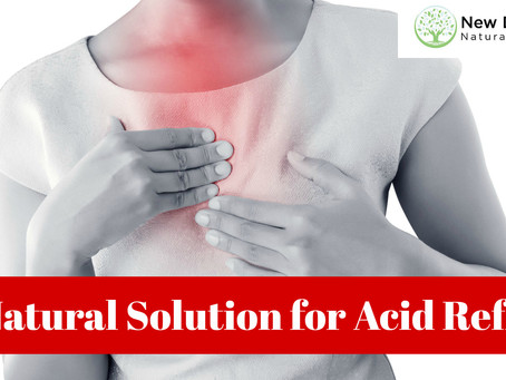 A Natural Solution for Acid Reflux