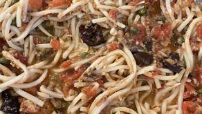 Artichoke Pasta Puttanesca