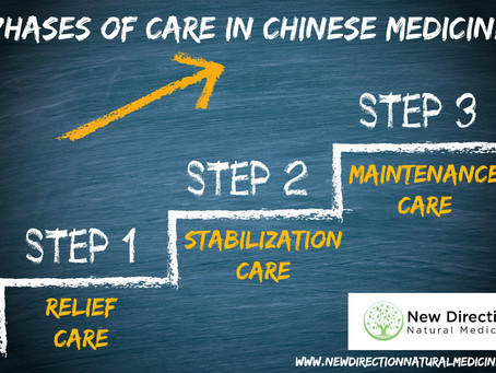 The 3 Phases of Care in Chinese Medicine