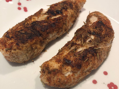 Savory Rosemary Grilled Chicken Tenders