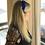 Thumbnail: Tiara de cabelo Velvet em fita de veludo