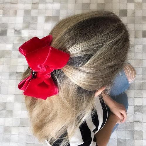 Piranha de cabelo Velvet
