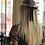 Thumbnail: Laço de cabelo Petit Perle em fita de veludo e pérolas