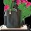 Thumbnail: TOTE bag - Black Cactus leather - Vegan leather