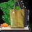 Thumbnail: TOTE bag - Peau de Cactus Or - Cuir vegan