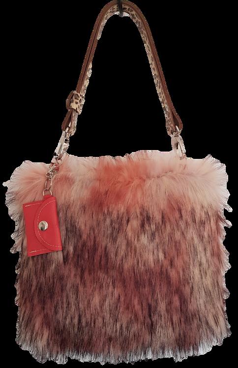 SMILLA - Pink Raccoon - Midi Bag Leo