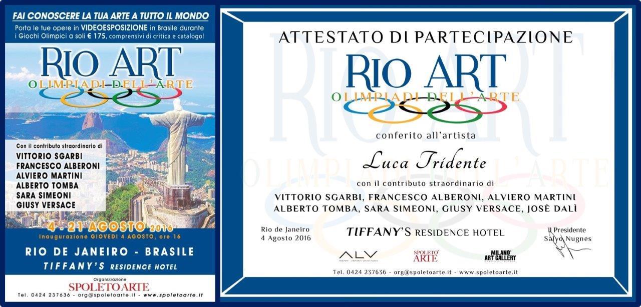 RIO ART Olimpiadi dell'Arte