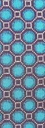 SHWE SHWE - TURQUOISE/BLACK OCTAGONS