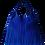 Thumbnail: Sac à franges - ESPRIT SQUAW - Bleu électrique