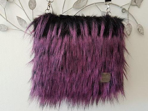 SMILLA - Pink Vain Ostrich - Midi Bag