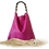 Thumbnail: Tote Bag NERISSA - Sac fourre-tout - Cuir véritable - Fuchsia
