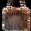 Thumbnail: SMILLA - Brown Ostrich - Midi Bag