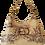 Thumbnail: HOBO BAG MIDI-  Mowgli - Genuine leather