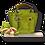 Thumbnail: Mini Tote Bag - Alcantara - Pistachio