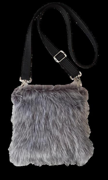 SMILLA Pillow - Crossbody bag - Grey wolf