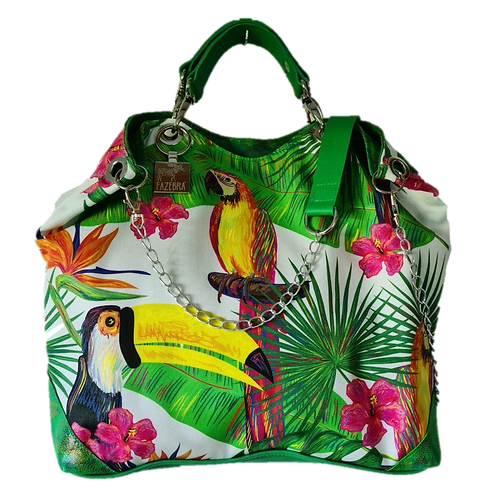 TROPICAL Collection - PARROT Tote