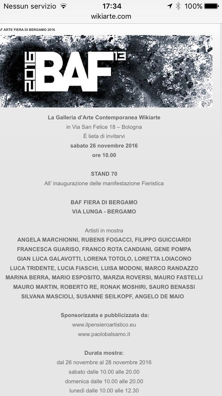 BAF - Bergamo Arte Fiera