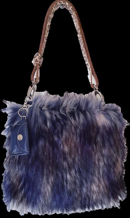 SMILLA - Blue Raccoon - Midi Bag Leo