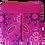 Thumbnail: ROXANNE POUCH - SHWESHWE FUCHSIA/PURPLE