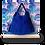 Thumbnail: Hobo bag franges - ESPRIT SQUAW - Bleu électrique