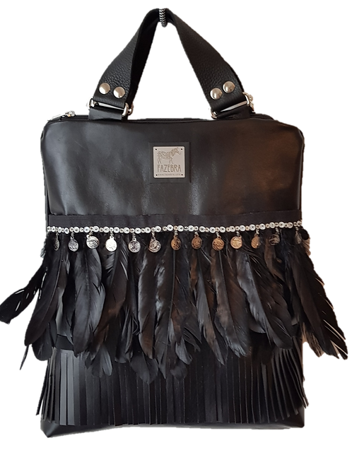 SHIKOBA shoulder/handbag - black