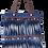 Thumbnail: FJ - Shoulder Bag with denim fringe trims