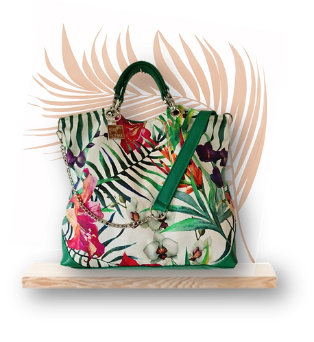 TROPICAL Collection - IRIS Tote