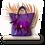 Thumbnail: Tote Bag - Poche plumes et  Broche Frida Khalo - Cuir vachette véritable