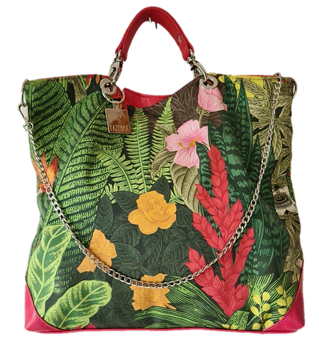 TROPICAL Collection - HIBISCUS Tote