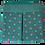 Thumbnail: ROXANNE POUCH - SHWESHWE GREEN/PINK