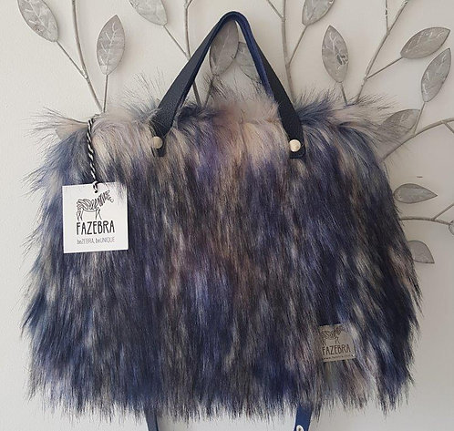 SMILLA - Blue Raccoon - HandBag